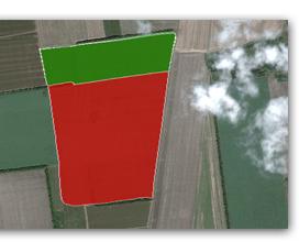 измерение площади полей, система измерения полей, помощник агронома