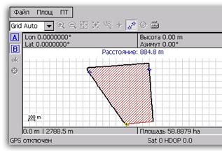 ГеоМетр, измерение площади полей, система измерения площади полей, помощник агронома